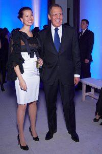 Сергей Лавров и Екатерина Лаврова