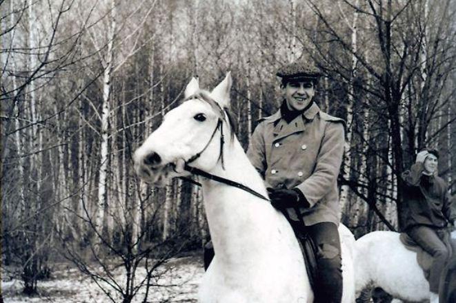 Сергей Лавров на коне